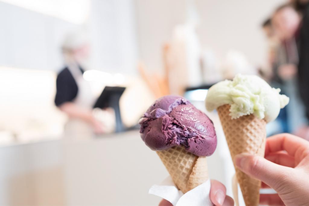 plant-based dairy ice-cream